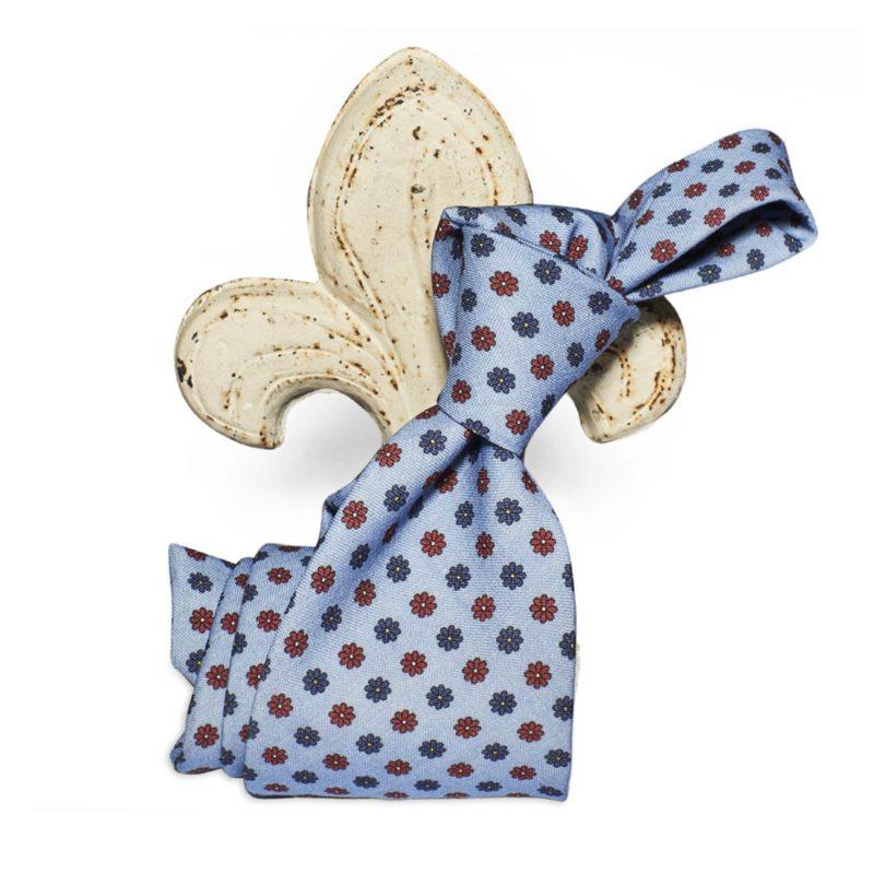 Cravatta lana 35 Tie wool